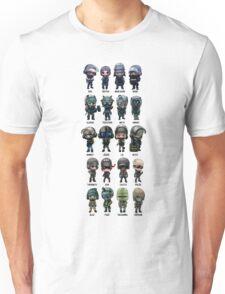 Rainbow Six Siege Chibis Unisex T-Shirt