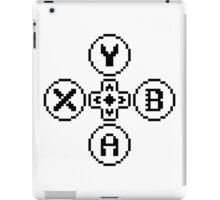 Buttons Quadrilogy - Contrast Design - Black iPad Case/Skin