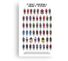 16-Bit Draft Picks Canvas Print