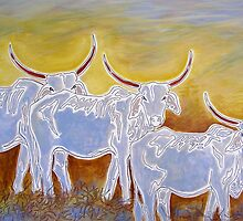 Ghost Cattle by Susan Greenwood Lindsay
