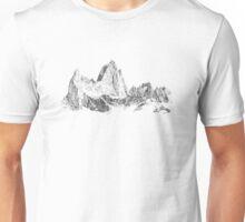 Mountains - Stippling Unisex T-Shirt