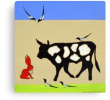 Cattle Guard Canvas Print
