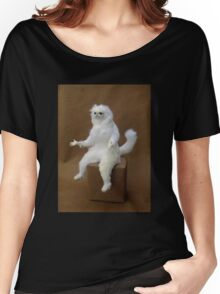 Persian Cat Meme Women's Relaxed Fit T-Shirt