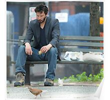 Sad Keanu MEME Poster