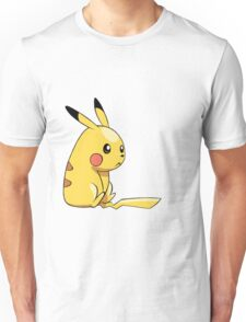 Sitting Pikachu  Unisex T-Shirt