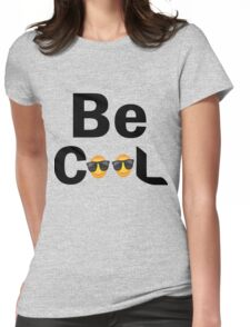 Verbal Tees Be Cool Character Womens Fitted T-Shirt