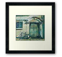 Oxford Bike Framed Print