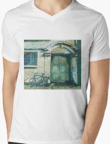 Oxford Bike Mens V-Neck T-Shirt
