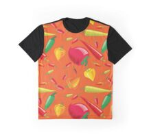 Hot Peppers Graphic T-Shirt