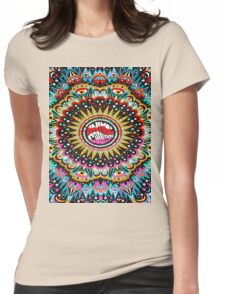 Trippy Animal Collective Womens Fitted T-Shirt