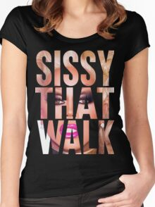 RUPAUL - SISSY THAT WALK Women's Fitted Scoop T-Shirt