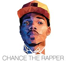 Chance the Rapper ~ Low Poly by nBoots