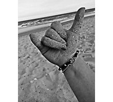 Hang Loose on the Shore Photographic Print