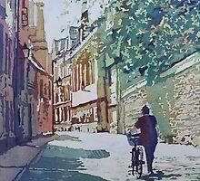 Brasenose Lane by JennyArmitage