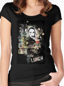 Let's have lunch - Orphan Black Women's Fitted Scoop T-Shirt