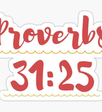 Proverbs Sticker
