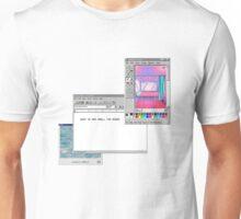 Windows 95 vaporwave pixel art Unisex T-Shirt