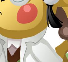 Pikachu Ph.D. Sticker