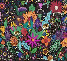 Flower Fantasia by Anne van Alkemade