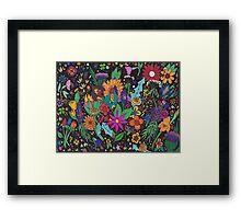 Flower Fantasia Framed Print