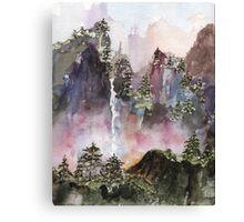 China Falls Canvas Print