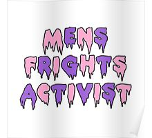 Men's Frights Activist Poster