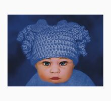 ADORABLE BABY BLUE - PICTURE - CARD Kids Clothes
