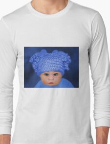 ADORABLE BABY BLUE - PICTURE - CARD Long Sleeve T-Shirt