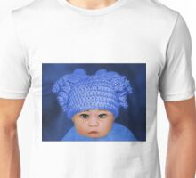 ADORABLE BABY BLUE - PICTURE - CARD Unisex T-Shirt