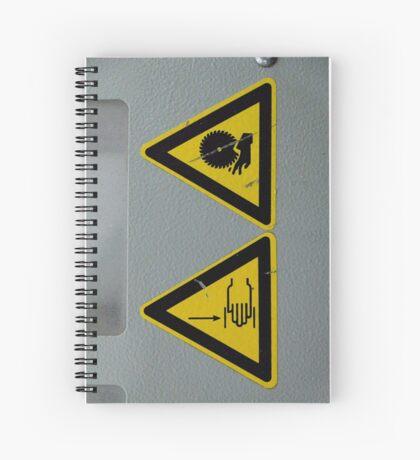 Watch the hands Spiral Notebook