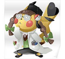 Pikachu Ph.D. Poster