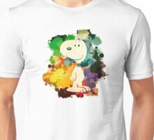 Snoopy Skecth Unisex T-Shirt