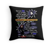 Castle Intro Throw Pillow