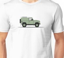 A Graphical Interpretation of the Defender 90 Hard Top Heritage Edition Unisex T-Shirt