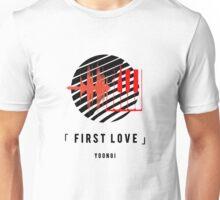 WINGS #4 FIRST LOVE YOONGI Unisex T-Shirt