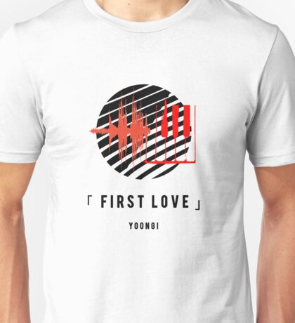 WINGS #4 FIRST LOVE YOONGI Unisex T-Shirt