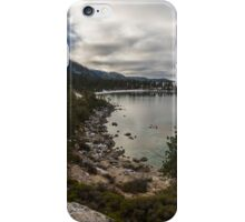 Blue Fog - Lake Tahoe iPhone Case/Skin