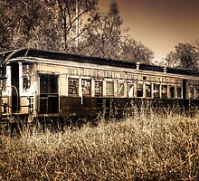 Bygone Train... by Tracie Louise