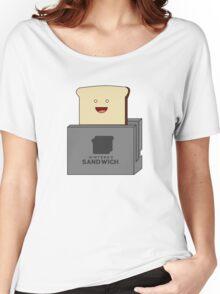 Nintendo Sandwich (Nintendo Switch Parody) Women's Relaxed Fit T-Shirt