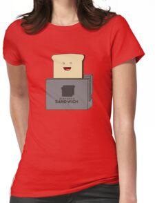 Nintendo Sandwich (Nintendo Switch Parody) Womens Fitted T-Shirt