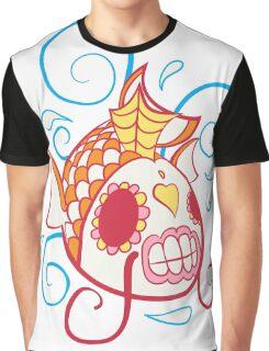 Magikarp Popmuerto | Pokemon & Day of The Dead Mashup Graphic T-Shirt