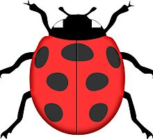 Ladybug by Gaspar Avila
