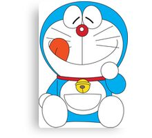 Doraemon Happy Feeling Canvas Print