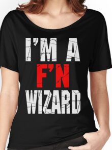 F'N Wizard Women's Relaxed Fit T-Shirt