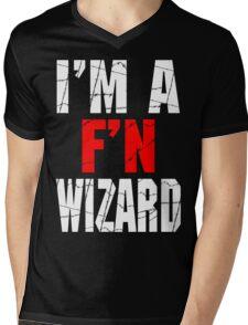 F'N Wizard Mens V-Neck T-Shirt