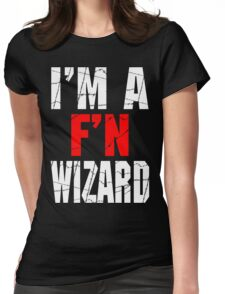 F'N Wizard Womens Fitted T-Shirt