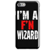 F'N Wizard iPhone Case/Skin