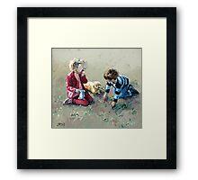 Best Friends II Framed Print