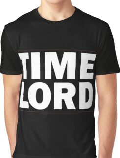 TIME LORD Graphic T-Shirt