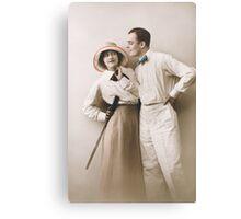Romantic Couple Canvas Print